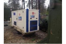 Встановлення дизельного генератора на полігоні, м. Яворів