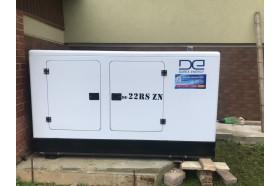 Встановлено надійний дизель-генератор в приватній садибі в с. Угерсько