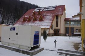 "Запущена дизель-генераторна установка FG Wilson в готелі "" Карпатські Зорі"""