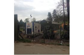 Встановлення дизель-генератора на Яворівському полігоні