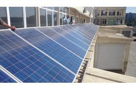 """Проект сонячних батарей для ринку """"Шувар"""""""