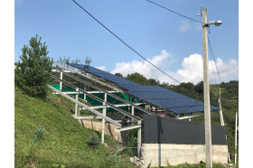 В Закарпатті збудували 1-у чергу сонячної мережевої електростанції